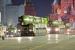 Le missile balistique intercontinental de RS-24 Yars Photographie stock
