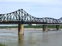 Le Mississippi Vicksburg en avril 2003 Photo libre de droits