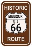 Le Missouri Route 66 historique Images stock