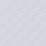 Le modèle élégant avec le zigzag raye dans le gris argenté Image stock