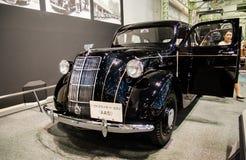 Le modèle aa de Toyota a montré au musée commémoratif de Toyota de l'industrie et de la technologie photo libre de droits