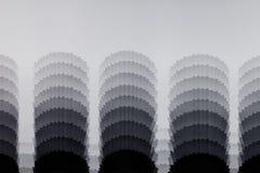 Le modèle abstrait noir et blanc Images stock