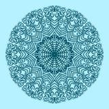 Le modèle circulaire est symétrique Illustration de vecteur Images libres de droits