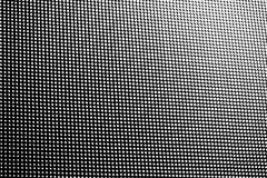 Le modèle de point blanc se fanent rangée de gradient de taille images stock