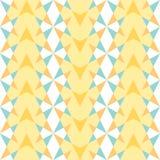 Le modèle des diamants et des triangles Photos libres de droits