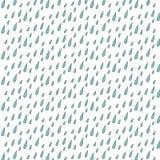 Le modèle des gouttes de pluie Image libre de droits