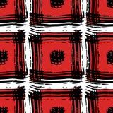 Le modèle des places rouges Image stock