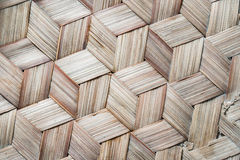 Le modèle du bambou thaïlandais de style handcraft le fond photo libre de droits