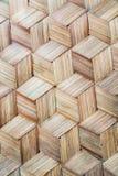 Le modèle du bambou thaïlandais de style handcraft le fond photographie stock libre de droits