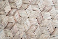 Le modèle du bambou thaïlandais de style handcraft le fond photographie stock