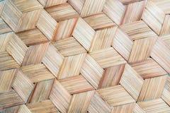 Le modèle du bambou thaïlandais de style handcraft le fond image libre de droits