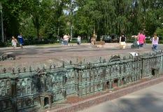 Le modèle du palais d'hiver à St Petersburg photographie stock libre de droits
