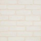Le modèle extérieur de mur de briques de plan rapproché au mur crème de papier peint de brique de couleur a donné au fond une con Photos libres de droits