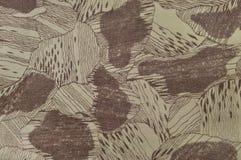Le modèle fait sur commande de texture de camouflage, brun bronzage vert pâle horizontal de taupe a donné au fond une consistance images libres de droits