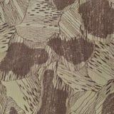 Le modèle fait sur commande de texture de camouflage, brun bronzage vert pâle vertical de taupe a donné au fond une consistance r photos stock