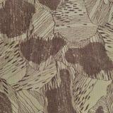 Le modèle fait sur commande de texture de camouflage, brun bronzage vert pâle vertical de taupe a donné au fond une consistance r photographie stock