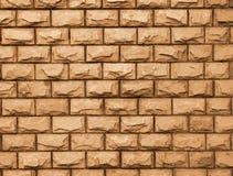 Le modèle jaune de briques Images stock
