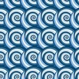 Le modèle original des spirales Photo libre de droits