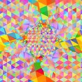 Le modèle sans couture avec le problème coloré par gainbow a dénommé des formes malpropres lumineuses illustration de vecteur