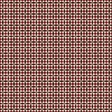 Le modèle sans couture rouge et de blanc de couleurs avec la répétition stylisée se tient le premier rôle Ornement géométrique si Photographie stock