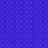 Le modèle sans couture se développe en spirales bleu Photo stock