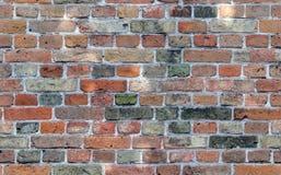 Le modèle sans couture, texture, le mur de briques, texture avec différentes briques colorées, rouge, vert, grises, brunissent av photo libre de droits
