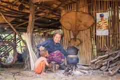 Le mode de vie dans la campagne, Thaïlande Photo stock