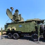 Le module multifonctionnel au sol moderne russe RB-271A Krasukha-4 de bloquer électronique Photographie stock