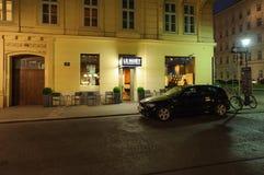 Le Moet豪华酒吧、香宾和食家酒吧 免版税图库摄影