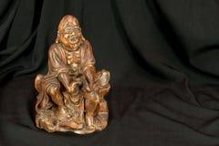 Le moine disant une prière Images stock