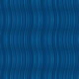 Le moirage ondule dans des couleurs bleues Images stock