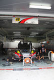 Le Mola Nissan 46 team le garage, SuperGT 2010 Images stock