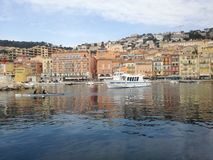 Le Monaco entrant photographie stock