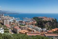 Le Monaco, Le Rocher Photographie stock