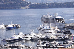 Le Monaco, Monte Carlo Image stock