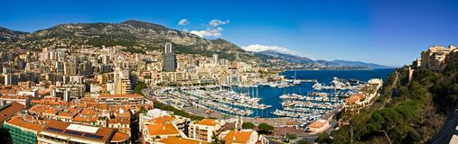 Le Monaco Monte Carlo Photo stock