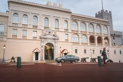 Le Monaco, 01/10/17, palais du ` s de prince Palais du ` s de prince dans l'offici de tne image stock