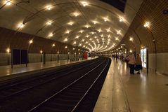 Le Monaco - station de train Images libres de droits