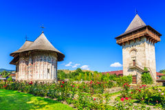 Le monastère d'humeur, Roumanie Photographie stock libre de droits