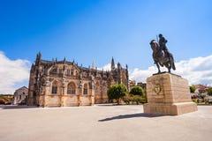Le monastère de Batalha Image stock