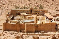 Le monastère de Catherine de saint Image libre de droits