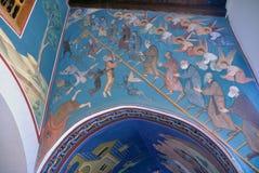 Le monastère de Kykkos, Chypre Image libre de droits