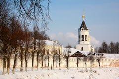 Le monastère de la nativité dans Vladimir, Russie Image stock