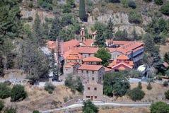 Le monastère de notre Madame Of The Machairas Photo stock