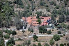 Le monastère de notre Madame Of The Machairas Photographie stock