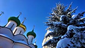 Le monastère de sauveur de St Euthymius dans Suzdal images libres de droits