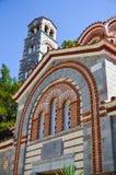 Le monastère de Selinari est situé en île pittoresque de Crète Photographie stock