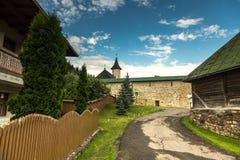 Le monastère de Slatina image libre de droits