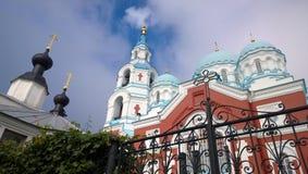 Le monastère de Spaso-Preobrazhensky sur Valaam photos libres de droits