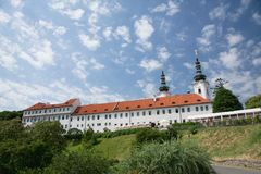 Le monastère de Strahov près du château de Prague, République Tchèque Images stock